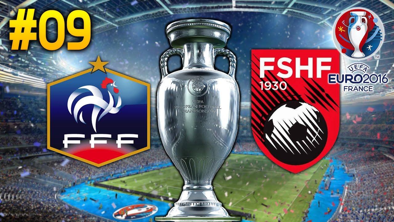 Spiel Frankreich Albanien