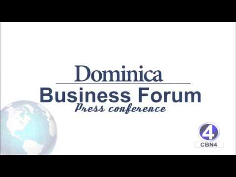 Dominica Business Forum Press Conference 15th January 2018 DBF - Dauer: 29 Minuten