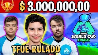 KING VS TFUE, NICKS VS BUGHA, FINAL ÉPICO! MELHORES MOMENTOS COPA FORTNITE