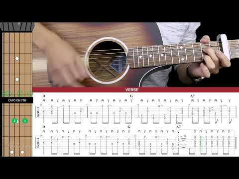 Here Comes The Sun Guitar Cover The Beatles 🎸 |Tabs + Chords|