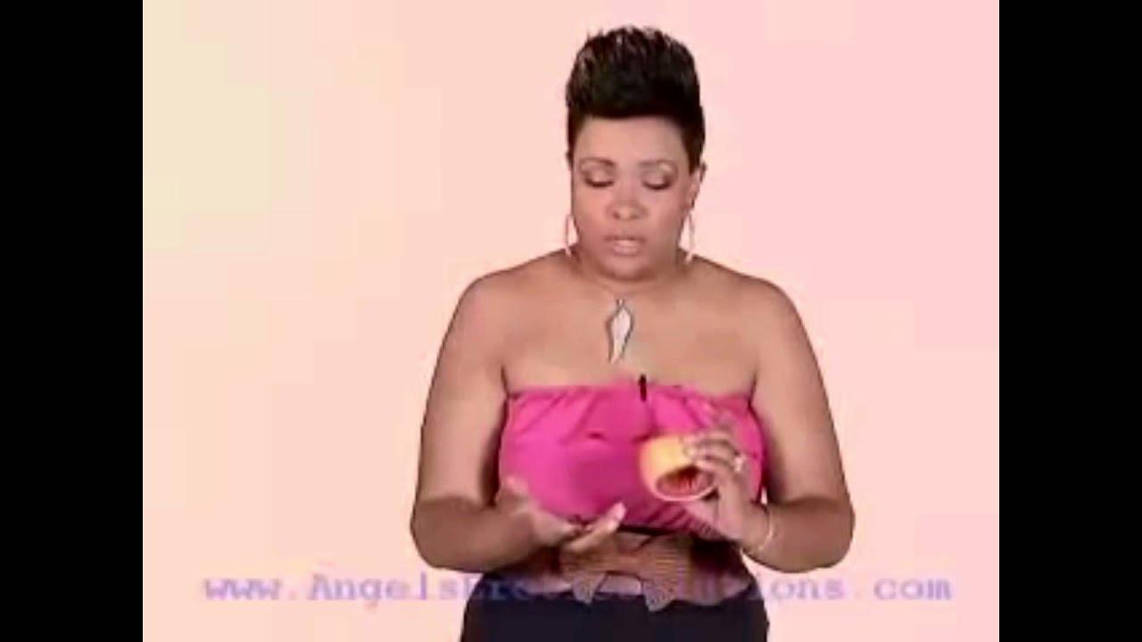 Auntie Angel Grape fruit technique secret - YouTube