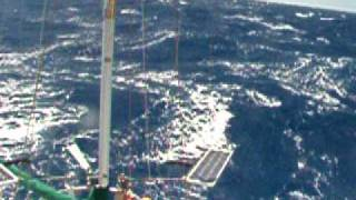 Trade Wind Sailing  Indian Ocean  Cocos Keeling to Mauritius