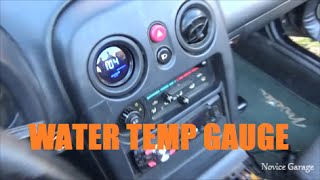 How To Install A Water Temp Gauge(In this episode we install an Ebay water temp gauge into the Miata. The kit comes with the gauge and the sensor, but you will probably need some more wire to ..., 2016-02-02T18:27:10.000Z)