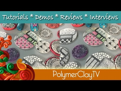 Adult Coloring on Polymer Clay Coloring Techniques - YouTube