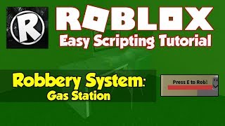 Roblox | How to make a Simple Robbery System | 2019