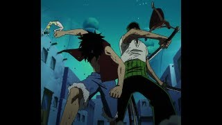 Zoro VS Luffy / Anime Battle 3