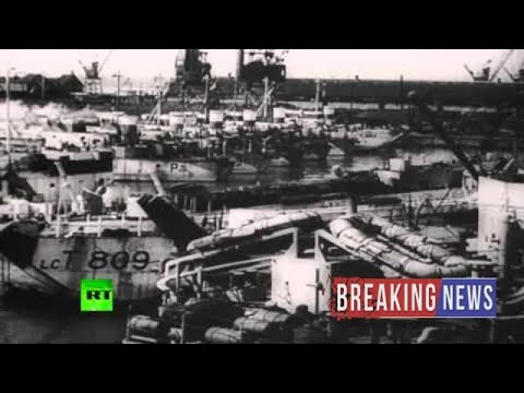 [Breaking News]Uncut Chronicles: D-Day 1944. Archive footage of invasion forces & defences