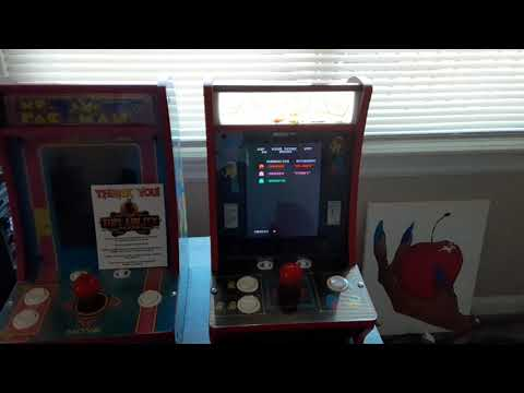 Arcade1up pacman countercade led marquee upgrade from Kevin Kelly