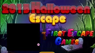 2015 halloween escape walkthrough
