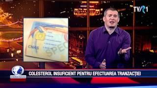 COLESTEROL INSUFICIENT PENTRU EFECTUAREA TRANZACTIEI