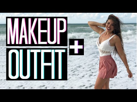 TOTAL LOOK APERITIVO IN SPIAGGIA | MAKEUP + OUTFIT | Adriana Spink