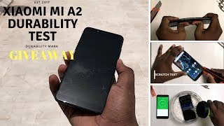 Xiaomi Mi A2 Durability Test   Drop TestBend Testwater Test Flame Test Scratch Test