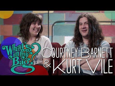 Courtney Barnett and Kurt Vile - What's In My Bag?