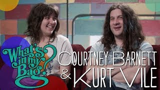 Courtney Barnett and Kurt Vile - What's In My Bag?