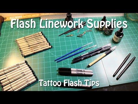 flash-line-work-supplies---tattoo-flash-tips