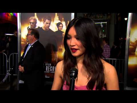 "Jack Ryan: Shadow Recruit: Gemma Chan ""Amy Chang"" World Premiere Interview"