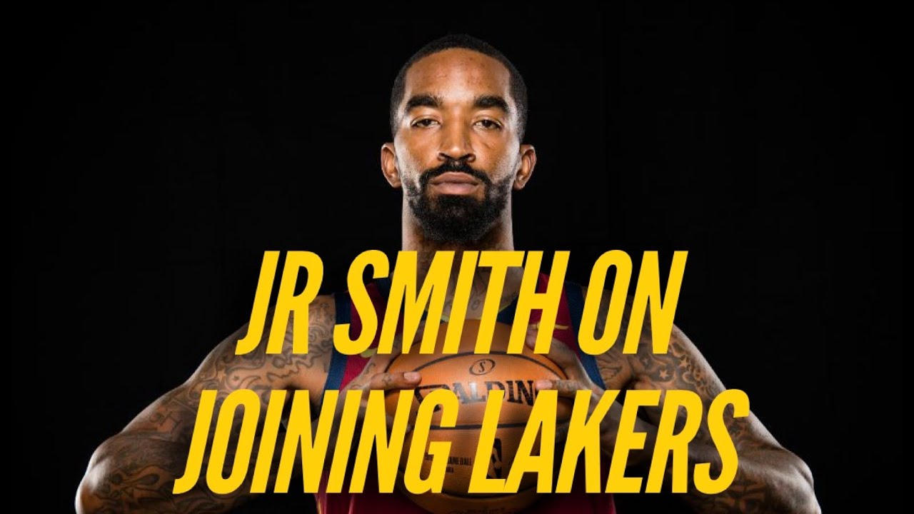 JR Smith on Joining Lakers, Playing With LeBron James, Future With Team, More