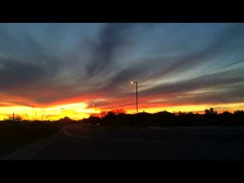 Arizona Desert Sunset Time-Lapse