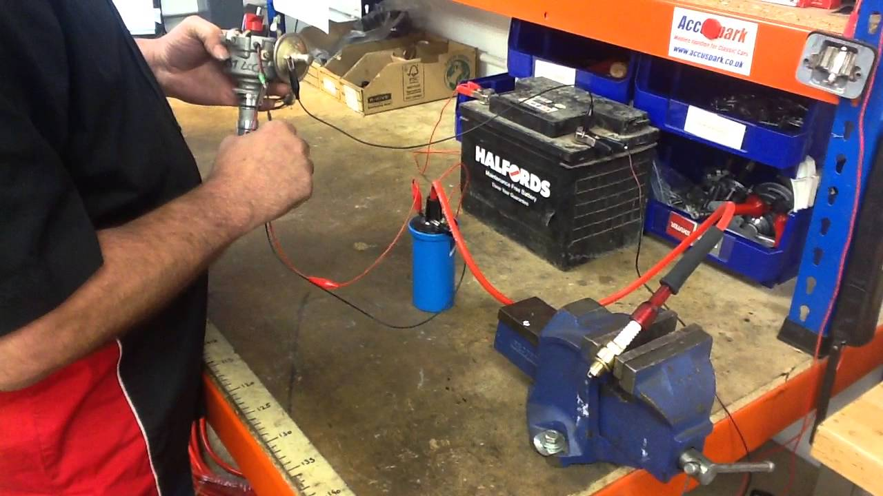 Accuspark Electronic Ignition Test Rig