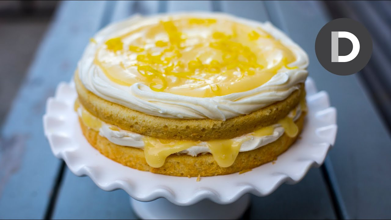 Epic Lemon Curd Cake Youtube