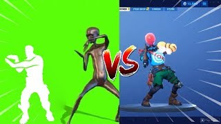 Fortnite New Extraterrestrial Emote In Real Life (Howard The Alien) 100% Sync!!