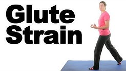Gluteus Maximus (Glute) Strain Stretches & Exercises - Ask Doctor Jo