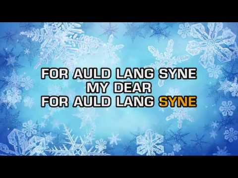 New Year's Eve Song - Auld Lang Syne (Karaoke)