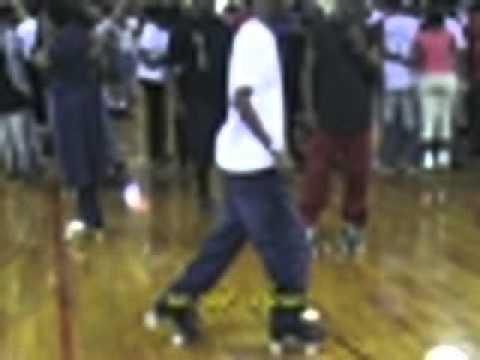 Roller skating: Fancy Foot Work at 2006 Adrenalin Awards
