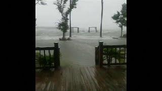 Ces images montrent que l'ouragan Florence a soufflé très fort sur les Etats-Unis