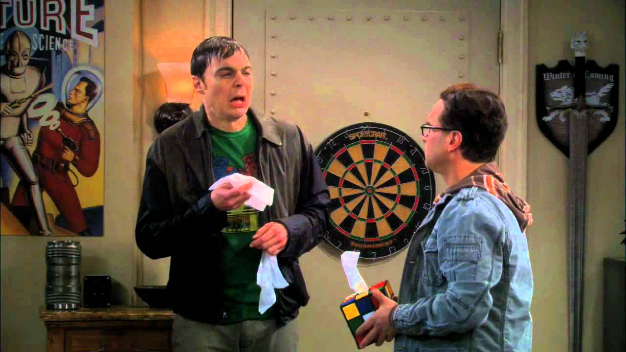 Download Rubiks Tissue Box Cover Seen On The Big Bang Theory The Rhinitis Revelation Episode
