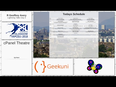 The Perl Conference in Glasgow - Day 3 - cPanel Theatre