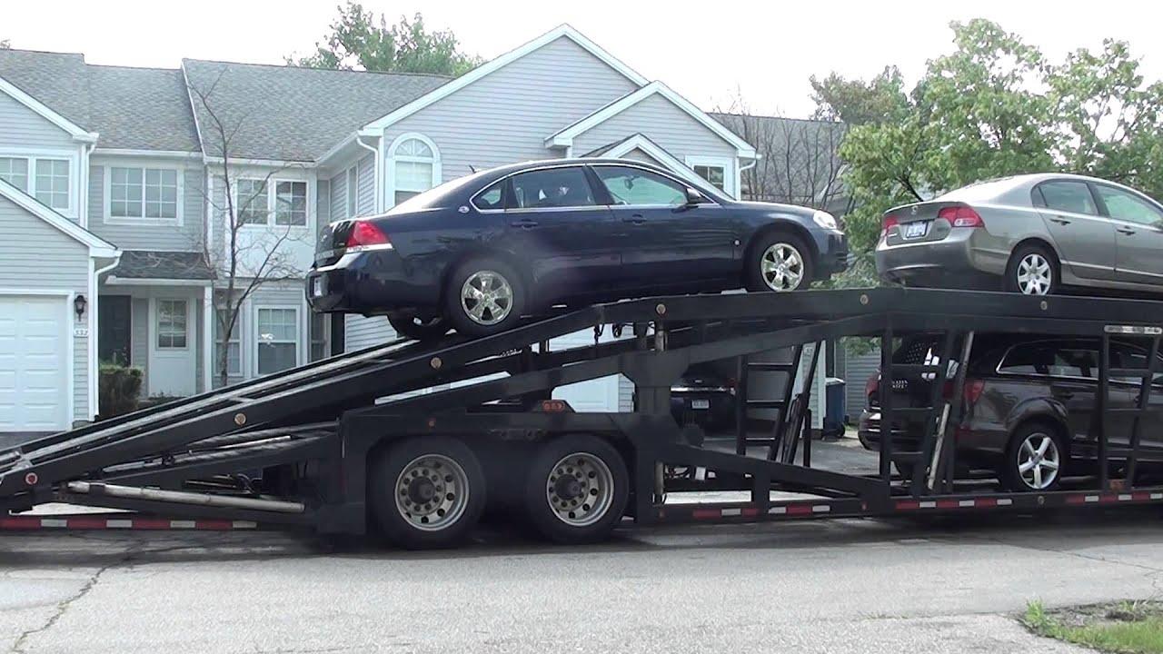 how to build a car transporter trailer