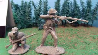 Tennesse Infantry Civil War Army men Review! Cunnyngham collectibles set #1