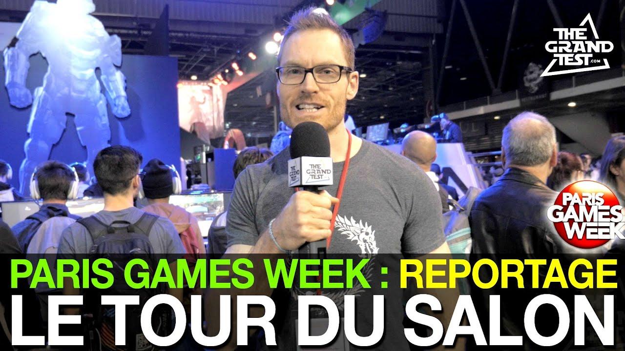 Paris games week 2015 le tour du salon youtube for Salon paris games week