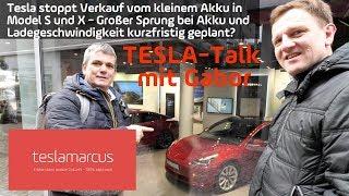 TESLA Model S/X: Bald größere Akkus und schnellere Ladegeschwindigkeiten? TESLA-Talk mit Gabor
