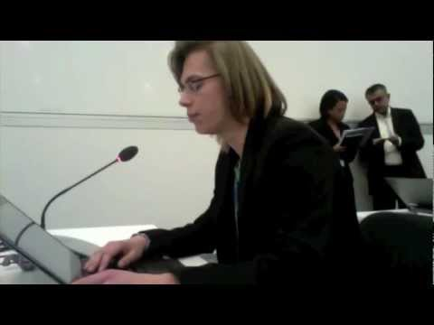 Intervention on YOUNGOs expectations for COP18