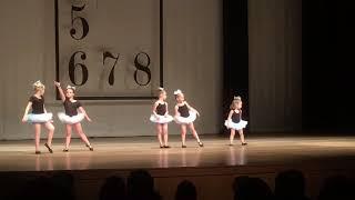 My daughters first ballet recital