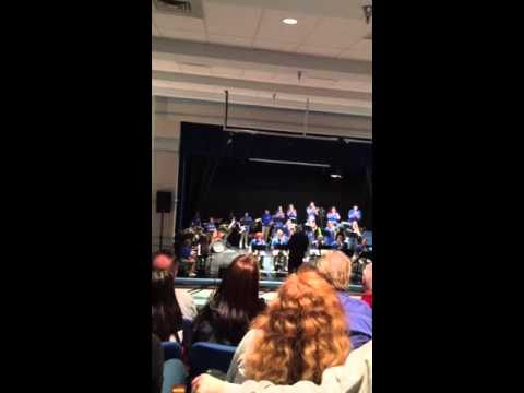 Harpers Ferry Middle School Band - Zack on drums in.    I'm at a oeu uh end x