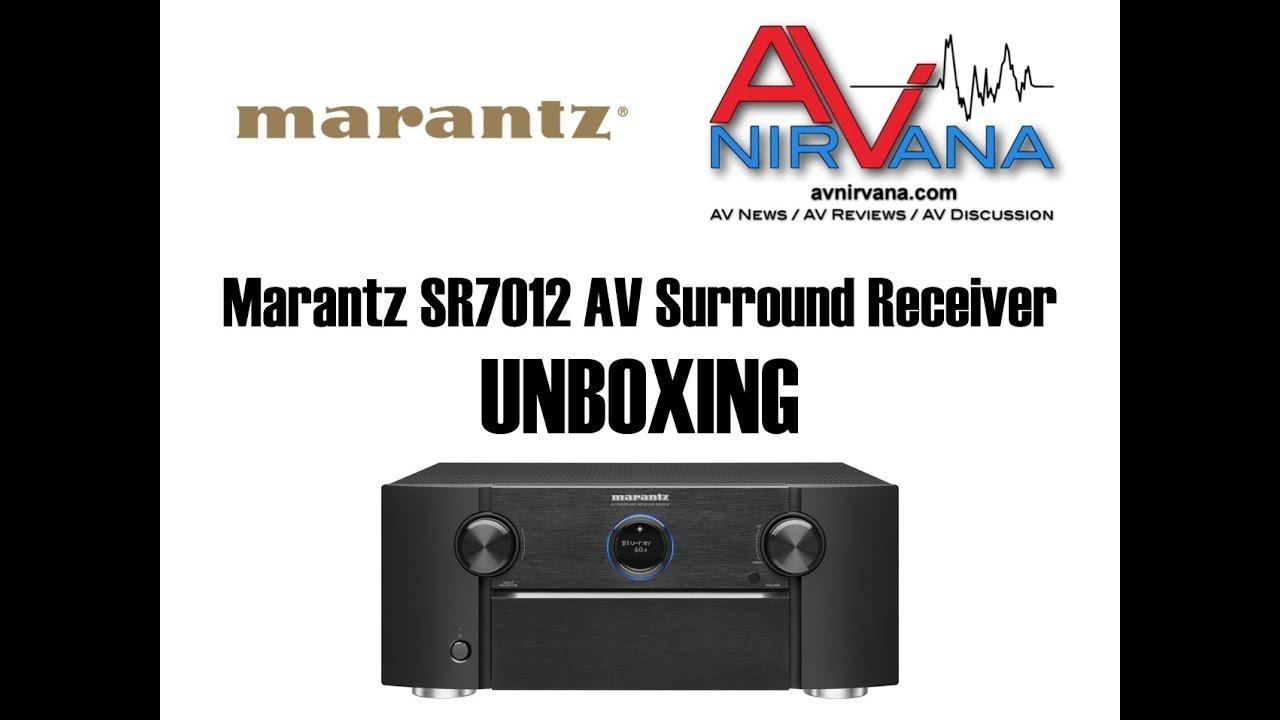 Marantz SR7012 9 2-Channel Network AV Receiver Review | AV NIRVANA