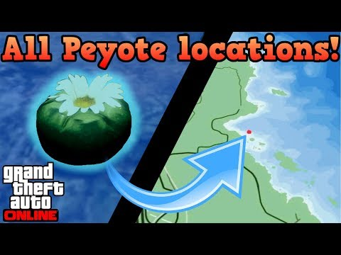 peyote plant locations
