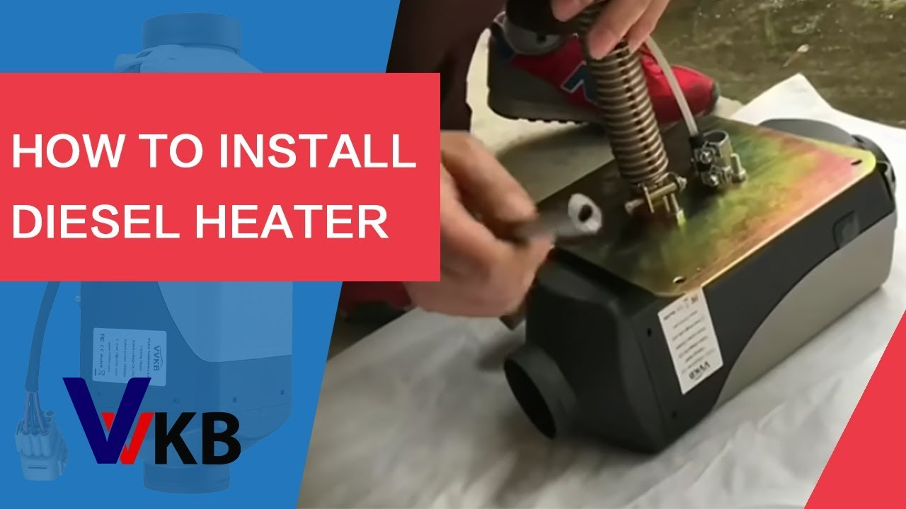 How to install diesel heater  YouTube