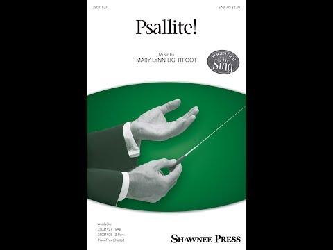 Psallite! (SAB) - by Mary Lynn Lightfoot