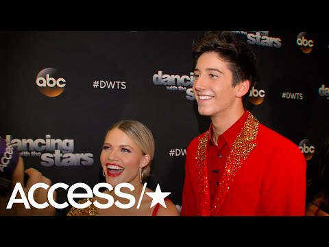 'DWTS': Milo Manheim & Witney Carson 'Completely Surprised' By Celine Dion's Performance | Access