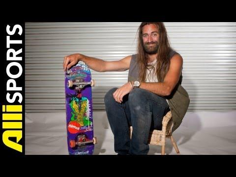 Chris Haslam's Almost a Skateboard Setup, Alli Sports