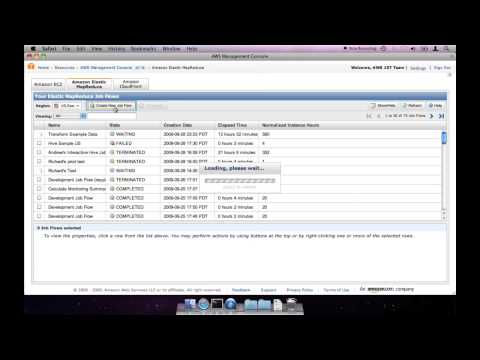 Using Apache Hive With Amazon Elastic MapReduce - 1 of 2