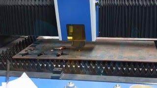 Dekcel 1000w fiber laser cutter 10mm carbon steel