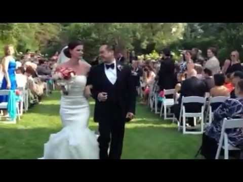 Love Actually Wedding Surprise All You Need Is Pop Up Recessional
