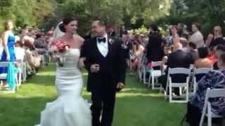 Love Actually Wedding Surprise, All You Need Is Love -- Pop-up Recessional