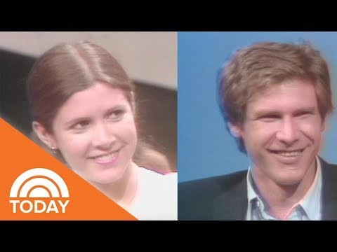 See 'Star Wars' Cast Carrie Fisher, Mark Hamill And Harrison Ford On TODAY In 1977 | TODAY