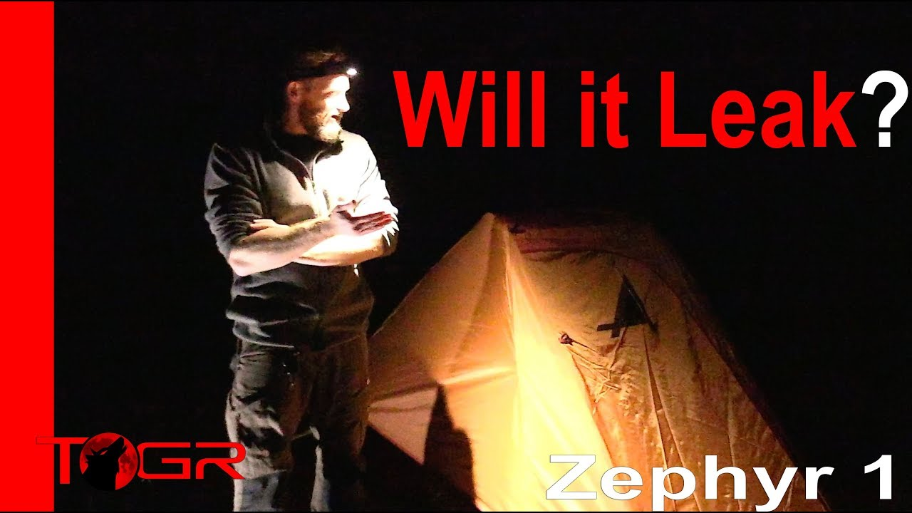 will-it-leak-alps-mountaineering-zephyr-1-person-tent-test-night